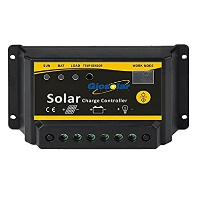 Giosolar Solar Charge Controller for Solar Panel Battery Charge