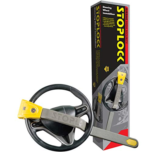 Stoplock 'Airbag 4×4' – Steering Wheel Lock For Cars – Secure Anti-Theft Device W/Keys