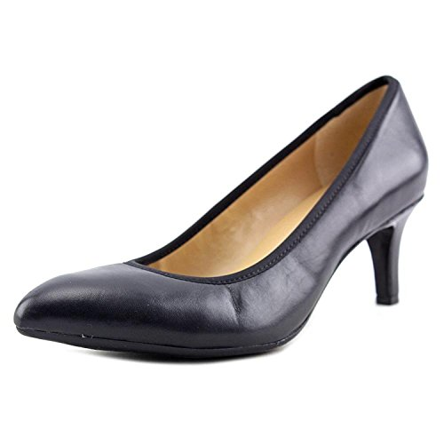 Naturalizer Womens Oden Leather Closed Toe Classic Pumps Black