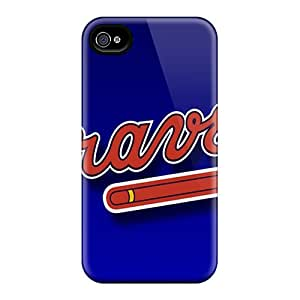 DustinFrench Iphone 6plus Shock Absorption Hard Phone Case Custom Stylish Atlanta Braves Image [zWA11924PQXO]