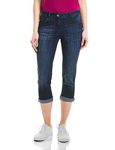Wash Pantaloni Cecil Donna 10284 mid Blu Blue XH1qHr