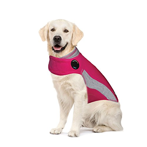 ThunderShirt Polo Dog Anxiety Jacket, Pink X-Large