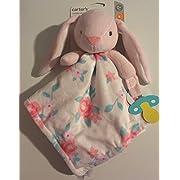 Carter's Baby Girl Cuddly Plush Bunny Lovey NUNU