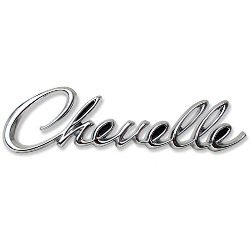 Eckler's Premier Quality Products 50-205264 Chevelle Rear Panel Emblem, Chevelle, Chevelle Rear Panel Emblem