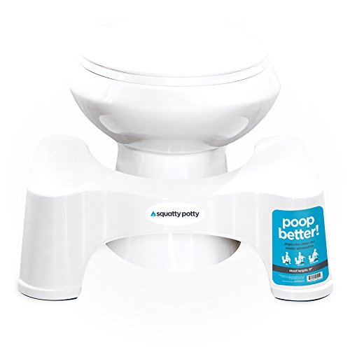 Large Product Image of Squatty Potty The Original Bathroom Toilet Stool, White, 9