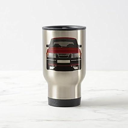 Feddiy Tumbler-Stainless Steel Travel Mug,14 oz Funny Coffee Mug-Saab 900