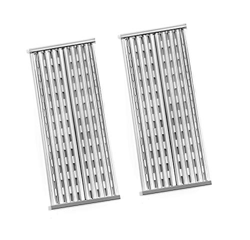 BBQ ration Stainless Steel Cooking Grid Replacement for Select Charbroil Performance Magnum Urban 2-Burner Gas Grill, Set of 2