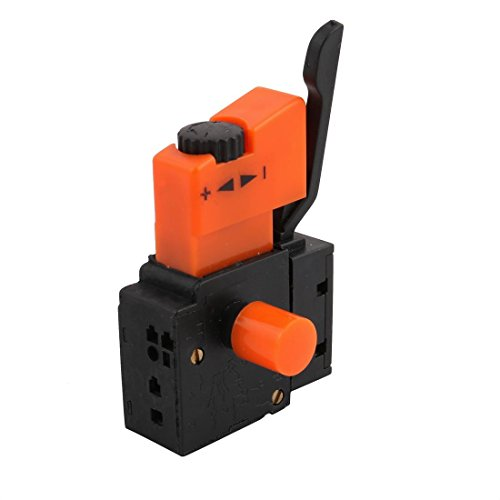 XMHF AC 250V 4A Lock on Manual Operation Hand Drill Speed Control Trigger Switch