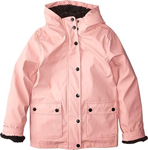 Urban Republic Kids Girl's Khloe Raincoat w/Faux Fur Lining (Little Kids/Big Kids) Pink 4 US Little Kid from Urban Republic Kids