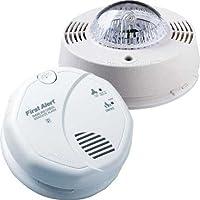 BRK Electronics SC7010B Hard Wired T3 Smoke/T4 Carbon Monoxide Alarm with SL177 Strobe