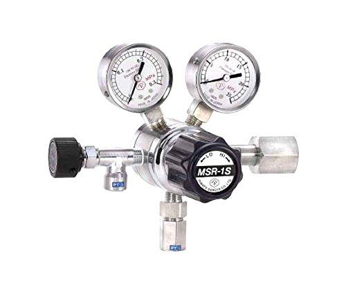 分析機用二段圧力調整器 MSR-1S MSR1S11TRC B00HPRZIEY