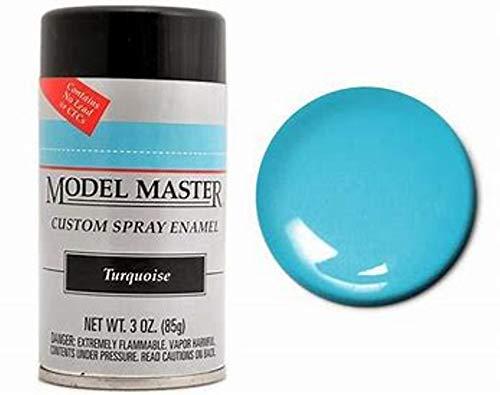 Testors Model Master Spray Enamel Turquoise 3oz. 85g #2965 ()