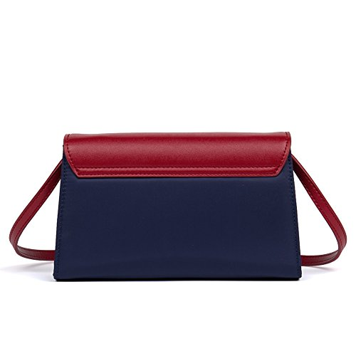 Bags Red Handbag Women Tote Shopper BOSTANTEN With blue Shoulder 18 Oversized Waterproof p06txqP