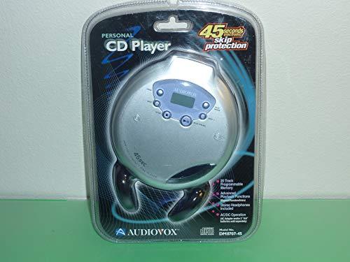 (AUDIVOX Personal CD Player DM8707-45)