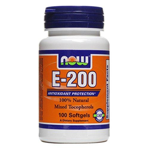 Vitamin E-200 IU 100 Softgels (Pack of 2)