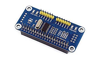 Raspberry pi Serial Expansion HAT,2C Interface 2-ch UART 8 GPIOs