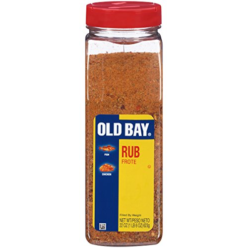 OLD BAY Rub, 22 oz, Great on Fish or (Bay Fish)
