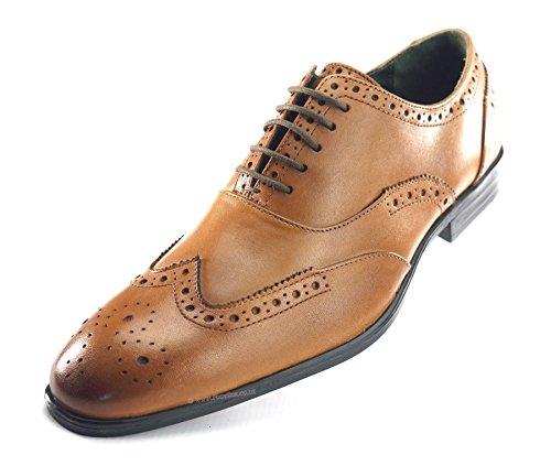 ville Chaussures lacets Street à de homme Silver Marron pour tvgHwqn