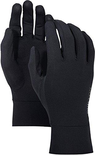 Burton Touch Screen Glove Liner, True Black W20, Medium