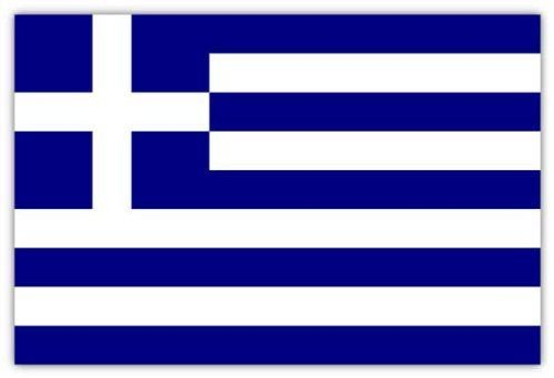 '5ft x 3ft Greece Country National Flags Indoor Outdoor Polyester 1 Pack with Eyelets--ideal For Pub club School Festival Business Party Decoration-Great For Supporting your team