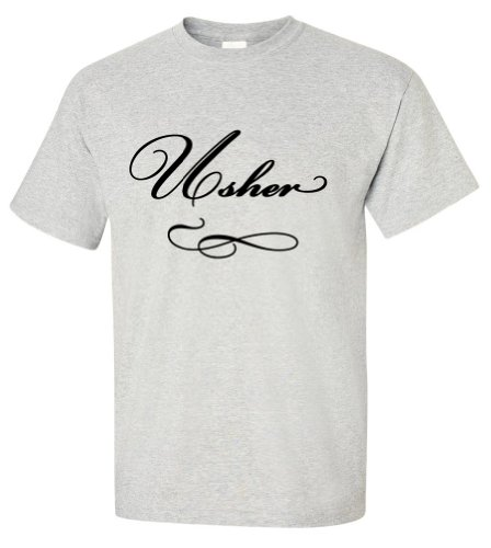 Usher Wedding T-Shirt -Bash-XL (Ushers In A Wedding)