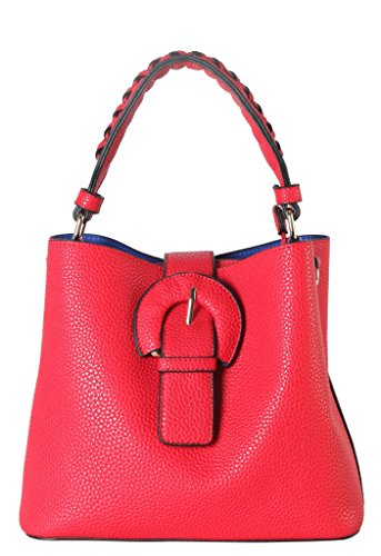 rimen-co-pu-leather-front-magnet-buckle-mini-hobo-with-woven-decor-handle-womens-purse-handbag-accen