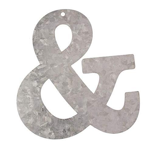 Metall Buchstabe & Zeichen, verzinkt Höhe 12 cm verzinkt Höhe 12 cm GLOREX GmbH