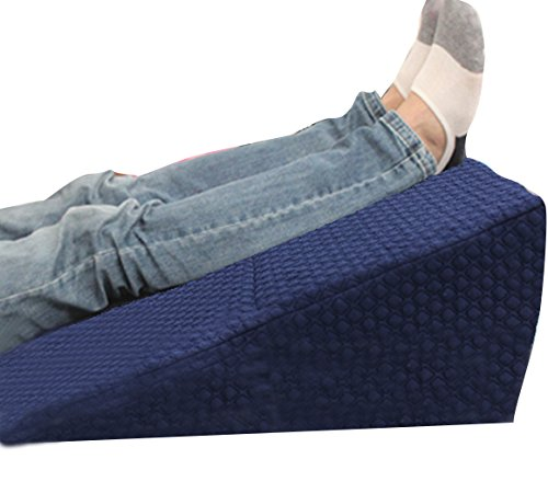 Collapsible wedge pillow - folding lumbar visco-elastic pillow - leg memory foam pillow - health care massage pillow