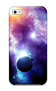 YgglFrO26336vhQME Case Cover, Fashionable Iphone 5c Case - Spaces And Nebulas
