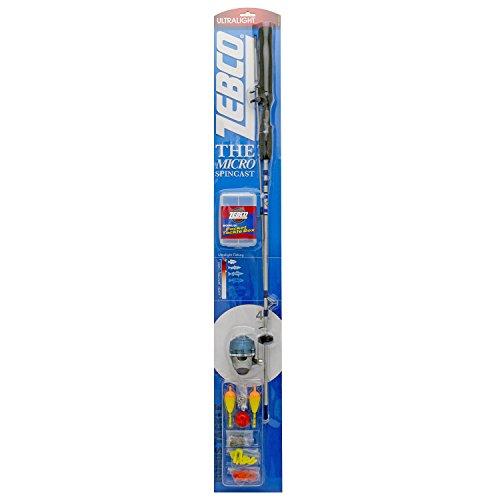 Zebco Micro Spin-Cast Pkg Combo 4 Lb For Sale