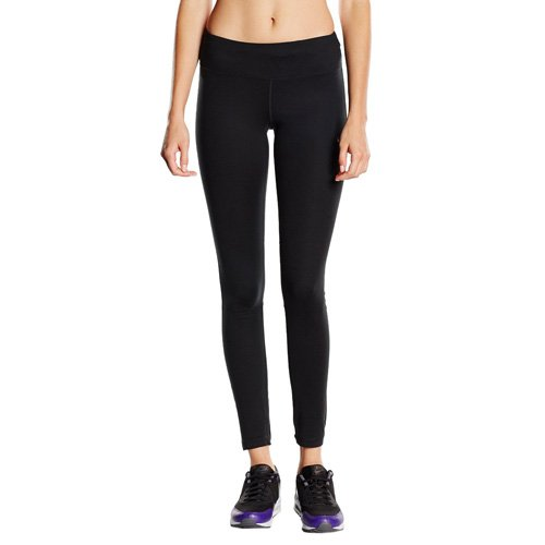 Nike Women's Dri-FIT? Epic Run Tight Black/Black/Reflective Silver LG X 28