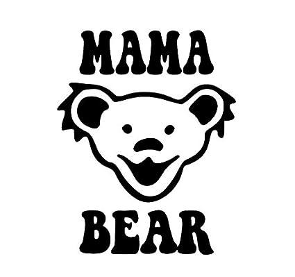 Amazoncom Cci Mama Bear Jerry Bear Grateful Dead Band Decal Vinyl