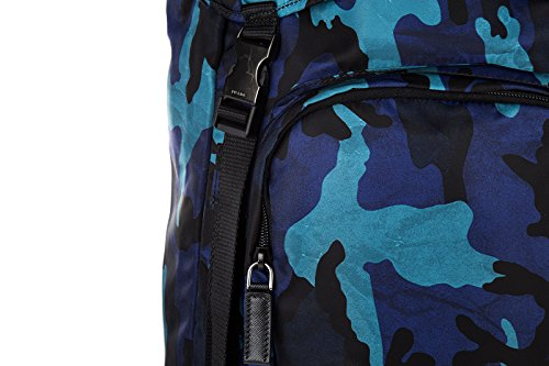 Prada sac à dos homme en Nylon camouflage blu