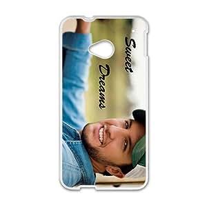 Luke Bryan Sunny Smile Design Hard Case Cover Protector For HTC M7