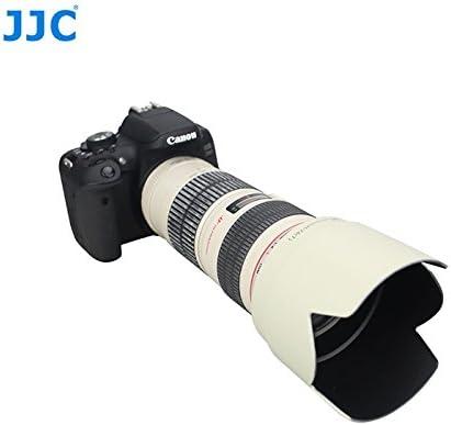 eFonto JJC Petal Lens Hood Replaces Canon ET-74 For Canon 70-200mm USM Lens-WHITE