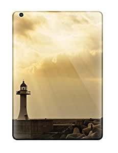 premium Phone Case For Ipad Air/ Lighttower In Sunset Tpu Case Cover
