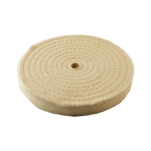 - Extra Thick Spiral Sewn Buffing Wheel, 8