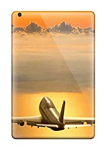 Premium KyMtIFG14297cjera Case With Scratch-resistant/ Airplane On Sky Case Cover For Ipad Mini/mini 2