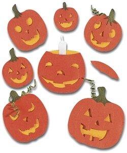 Jolee's Boutique Themed Simple Stickers, Halloween Pumpkins