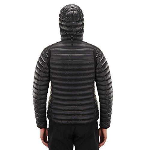 Mimic Black Essens Giacca Hooded Haglofs Aw18 Outdoor qg455H