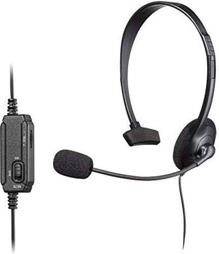 Snakebyte SB908538 Monoaural Diadema Negro Auricular con micrófono ...