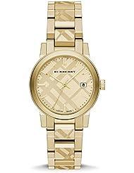 Burberry The City Gold-Tone Ladies Watch BU9145