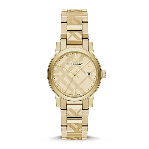 Burberry The City Gold-Tone Ladies Watch - Burberry Gold
