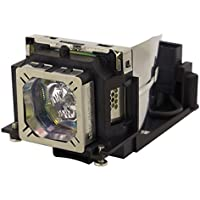AuraBeam Replacement Projector Lamp For ELPLP58/ V13H010L58 for with Housing Epson EX3200 EX5200 EX7200 PowerLite 1220 1260 S9 X9 S10+ VS200 EB-S10 EB-S9 EB-S92 EB-W10 EB-W9 EB-X10 EB-X9 EB-X92