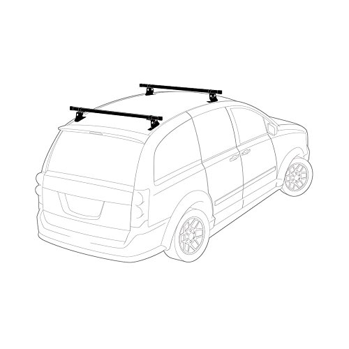 Dodge Caravan Roof Rack on universal wiper kit