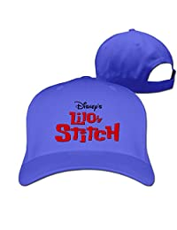 Logo Lilo And Stitch Baseball Trucker Hats Snapbacks Fitted Caps