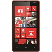 Nokia Lumia 820 Red Factory Unlocked 8GB 4G LTE 800 / 900 / 1800 / 2100 / 2600…