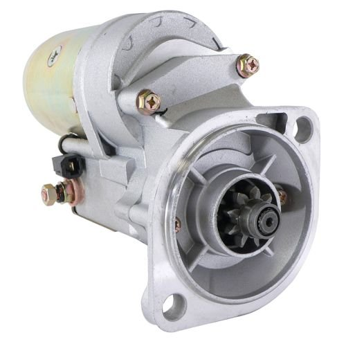 DB Electrical SND0331 Starter For Hyster Lift Trucks H-45XM, H-50XM, H-60-65XM 94-On Isuzu C-240 Diesel Engine /Isuzu Industrial Equipment Miscellaneous 92-On 4JG2 Engine / 8941337583, 8941337584
