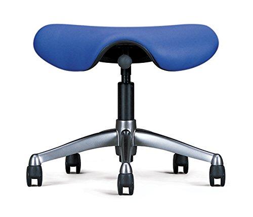 - Humanscale Freedom Saddle Seat - Ergonomic Saddle Chair