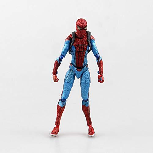 WAVECOAnime Model Avengers Figma199 Amazing Spider-Man Movable Spider-Man Hand High 16cm